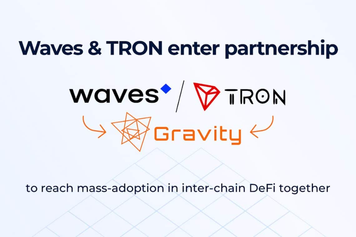 Tron e Waves per l'interoperabilità delle blockchain