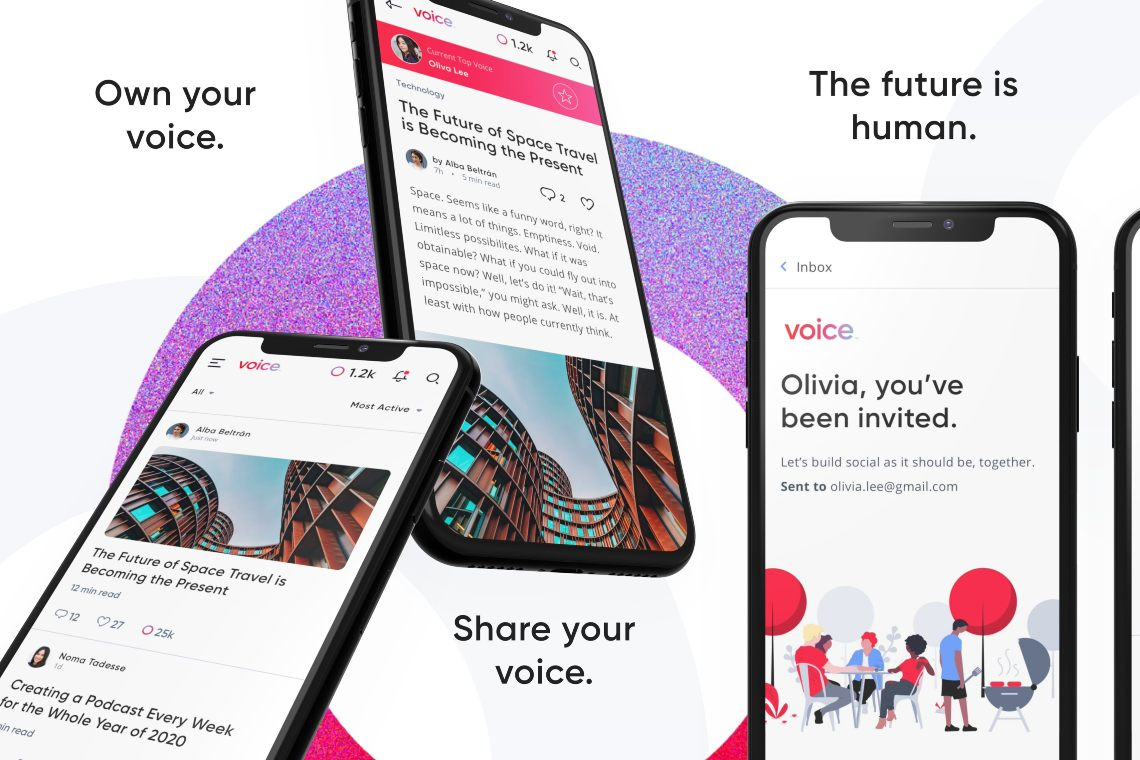 Voice: una guida al social network di EOS