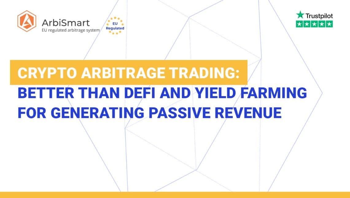 Trading di Arbitraggio Crypto per generare profitti passivi giornalieri