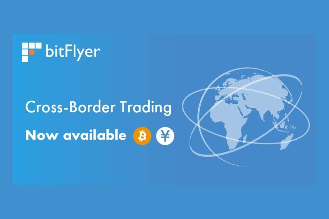 bitFlyer lancia il trading transfrontaliero con il Giappone