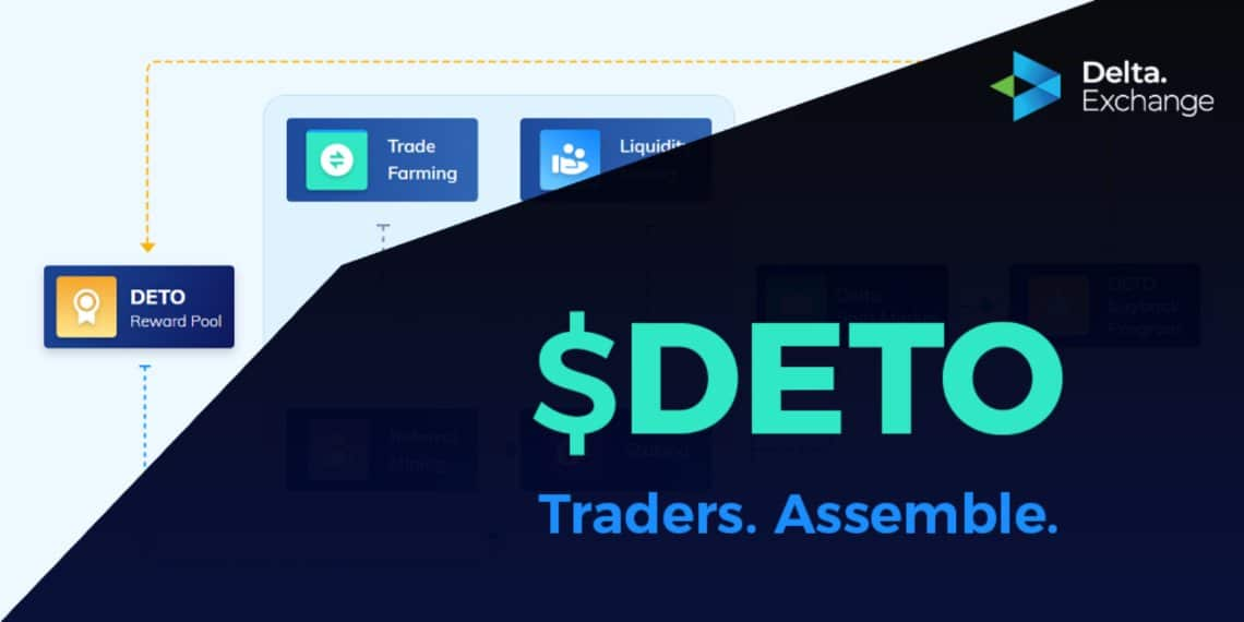 Delta Exchange lancia il token DETO
