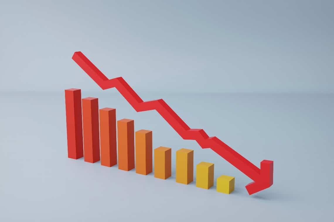 DeFi: decisa diminuzione del collaterale bloccato sui prestiti