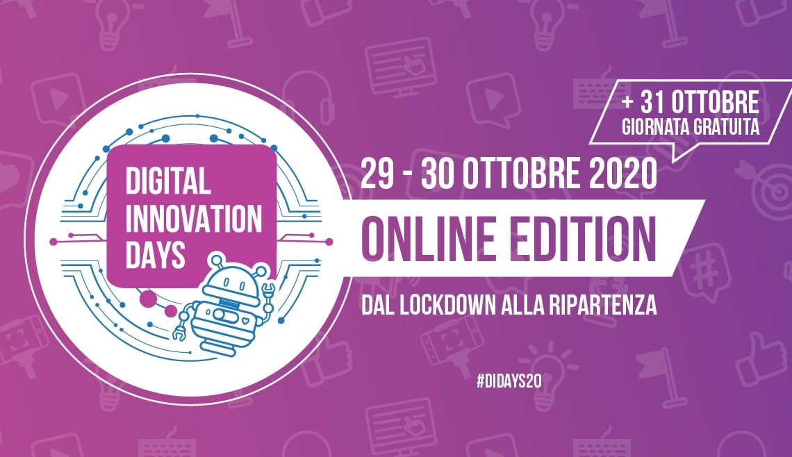 Digital Innovation Days: poco più di un mese all'evento