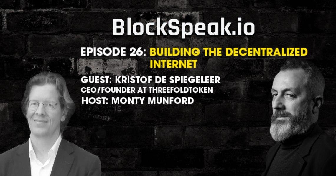 Kristof De Spiegeleer: come semplificare l'IT con la blockchain