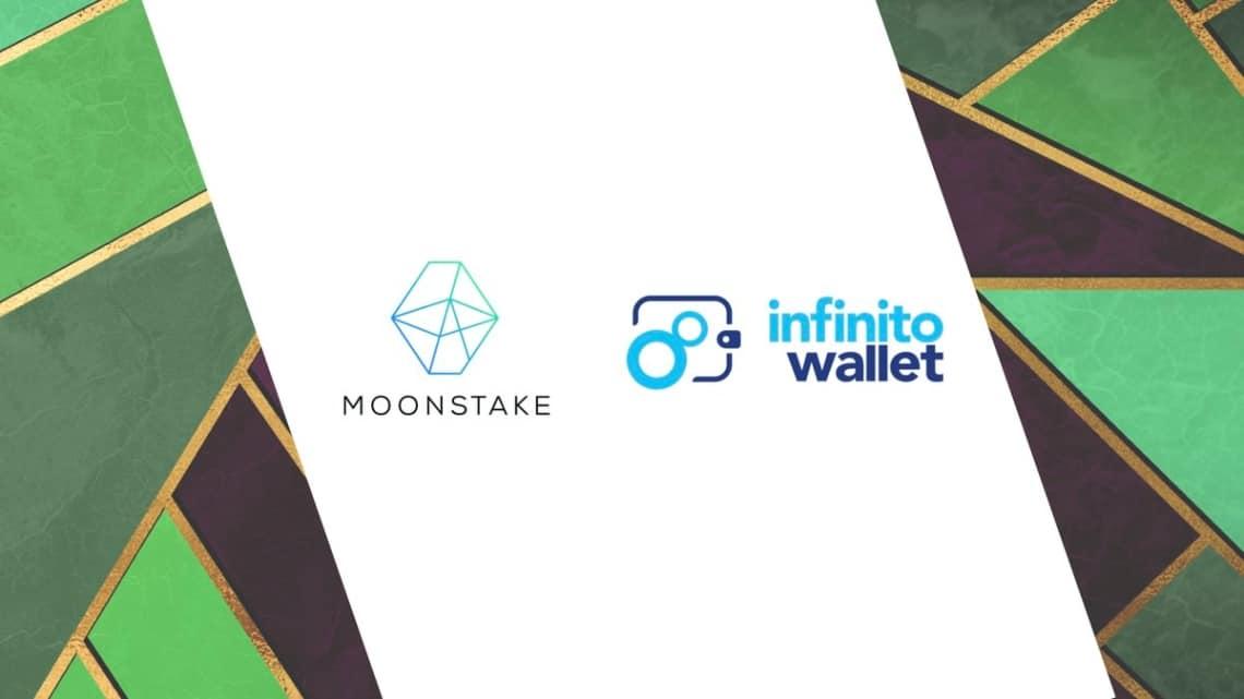 DeFi: Moonstake e Infinito wallet per un migliore staking