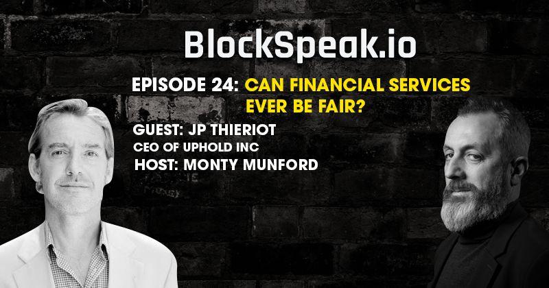 I servizi finanziari potranno mai essere equi? La parola a JP Thieriot