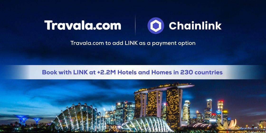Chainlink su Travala