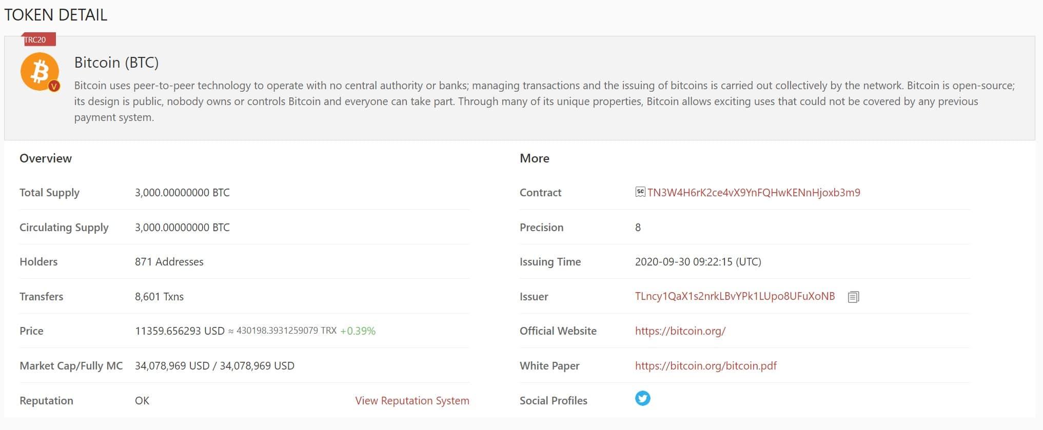bitcoin su tron