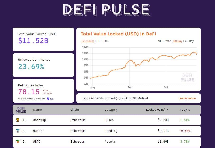 DeFiPulse 20201026