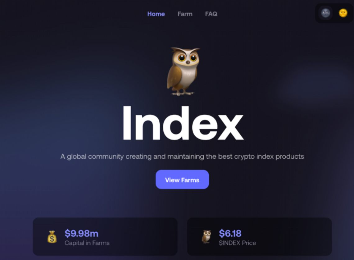 Index Cooperative: Il primo Index DeFi offre mining di liquidità