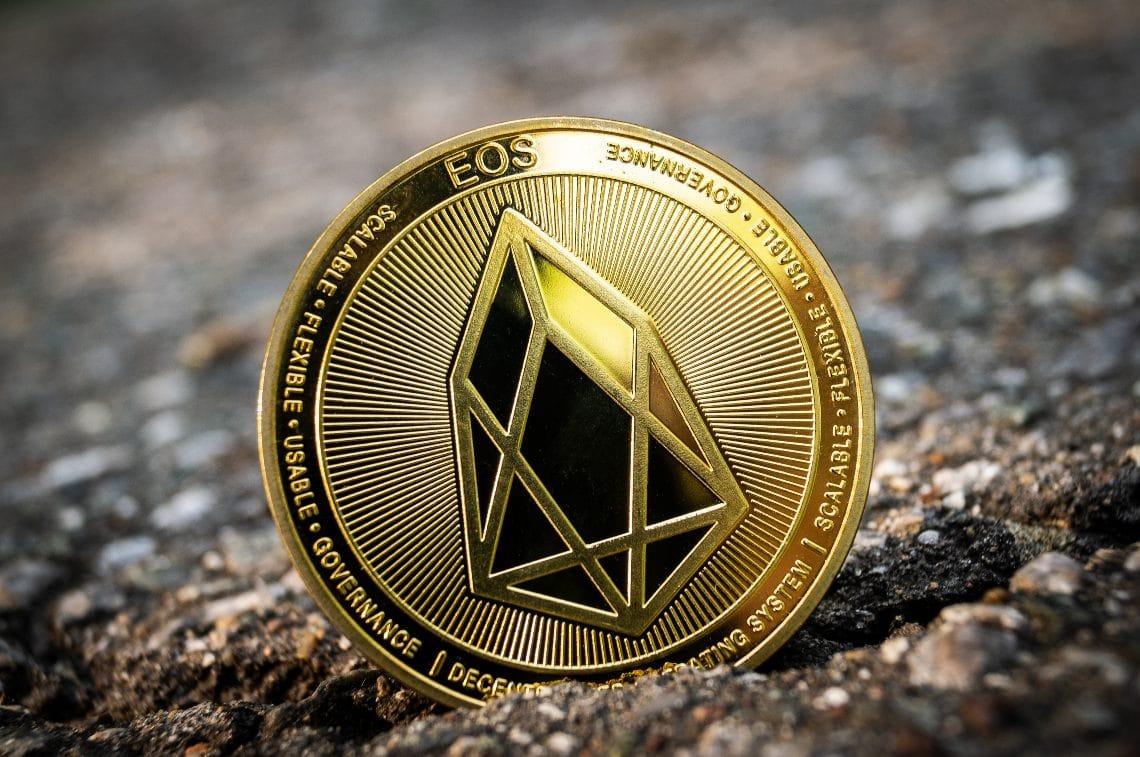 Lo smart contract EOS con il doppio delle transazioni di Ethereum