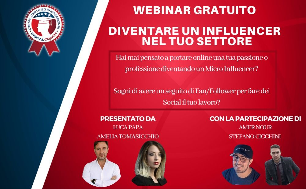 Come diventare influencer: un corso di Digital Coach in collaborazione con The Cryptonomist