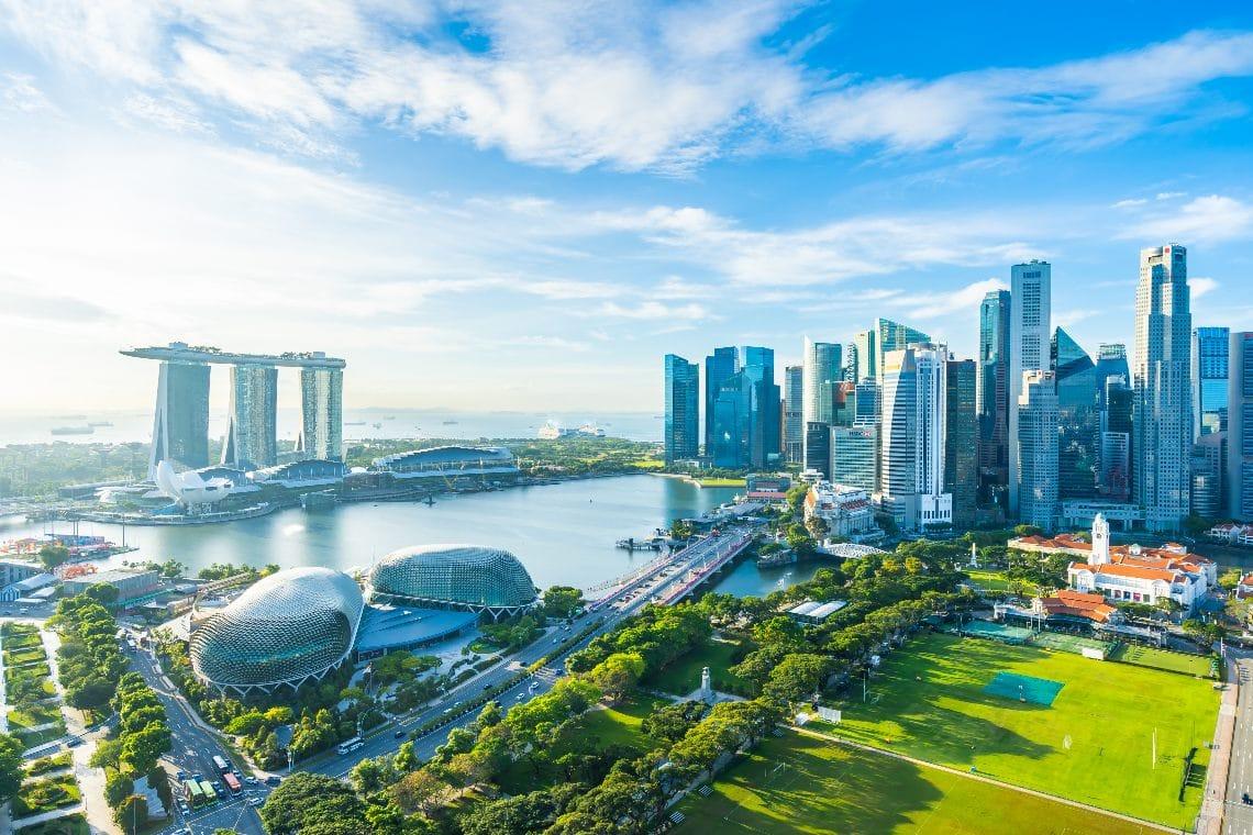Il governo di Singapore investe sulla blockchain