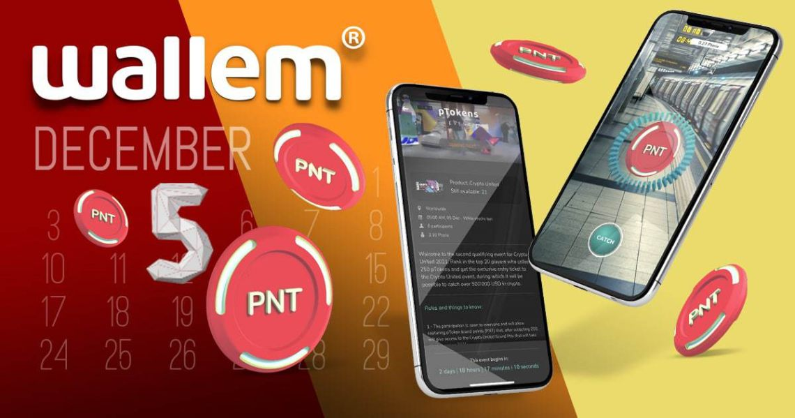 Wallem: nuovo evento crypto in collaborazione con pToken
