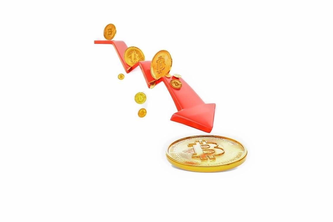Per JP Morgan la discesa di bitcoin potrebbe continuare