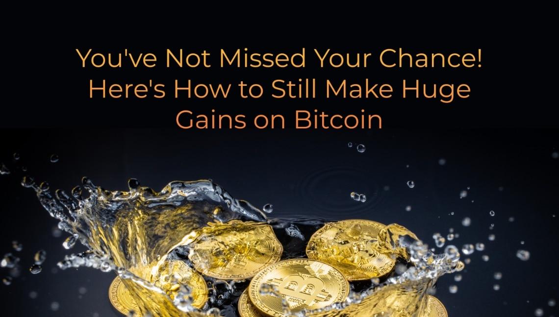 L'occasione non vi è sfuggita! Ecco come realizzare enormi guadagni con Bitcoin