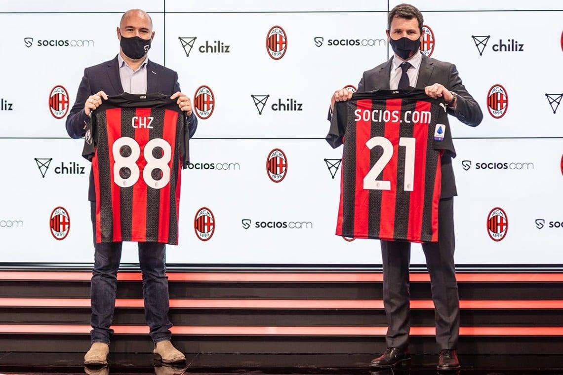 Il Milan emette il suo fan token con Socios