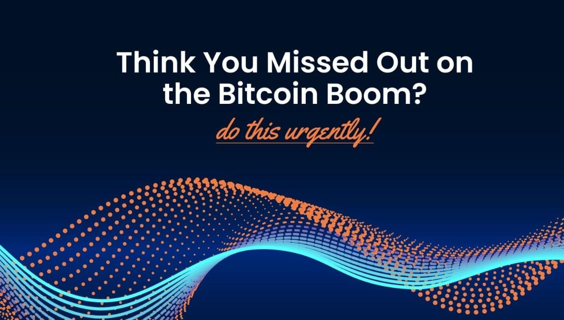 Pensate di esservi persi il boom di Bitcoin? Fate questo