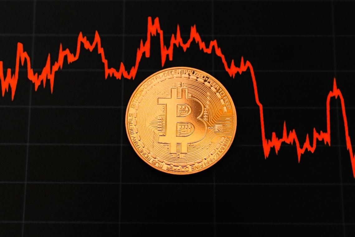 Bitcoin: ribasso dovuto alle prese di beneficio