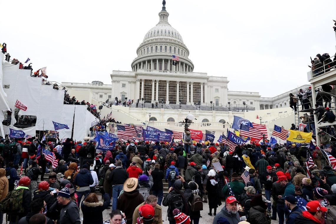 "Trump e l'assalto a Capitol Hill: ""Rischiamo una guerra civile"""