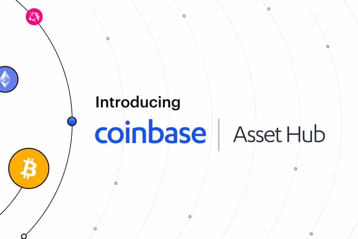 Coinbase lancia Asset Hub per listare token gratuitamente