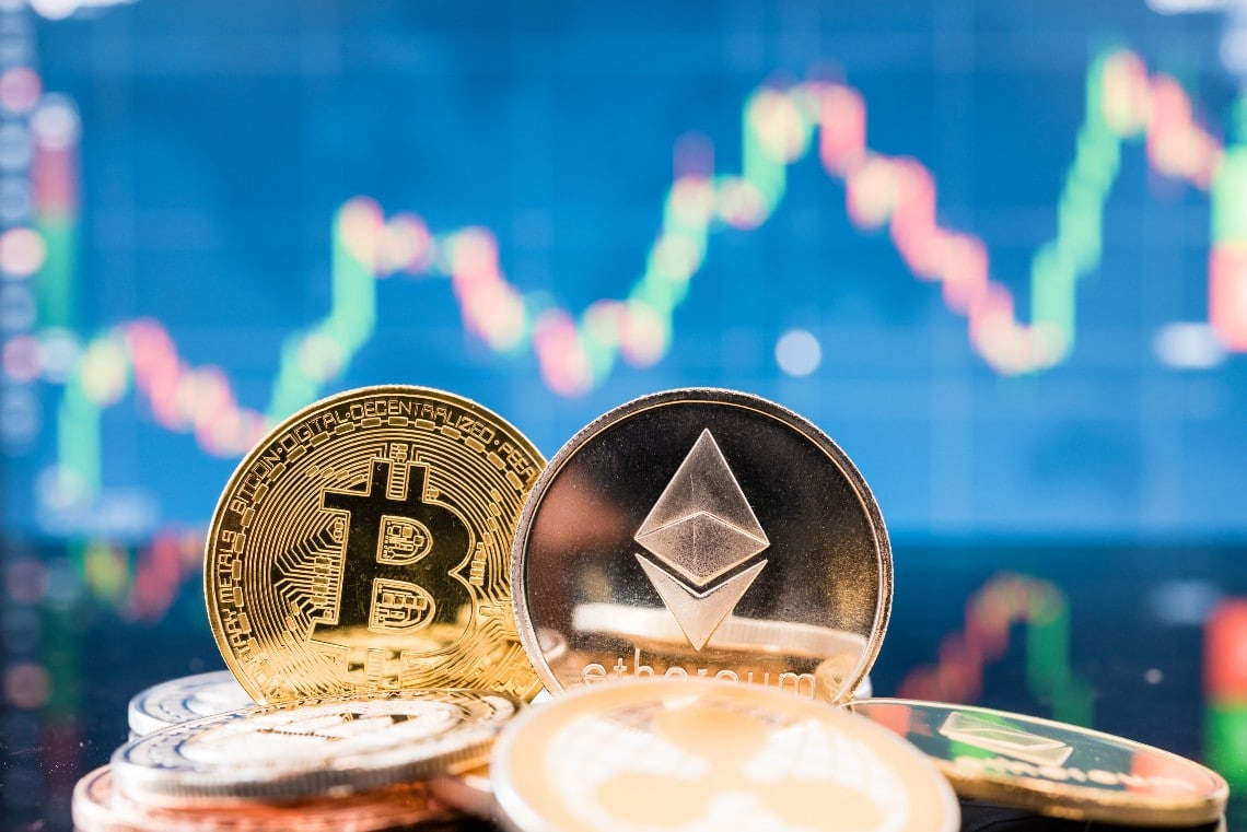 Ethereum: i volumi superano quelli di Bitcoin