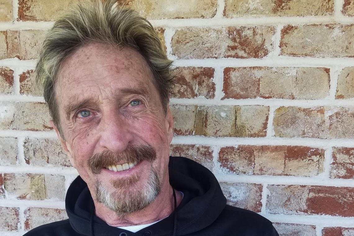 News su John McAfee: negati gli arresti domiciliari