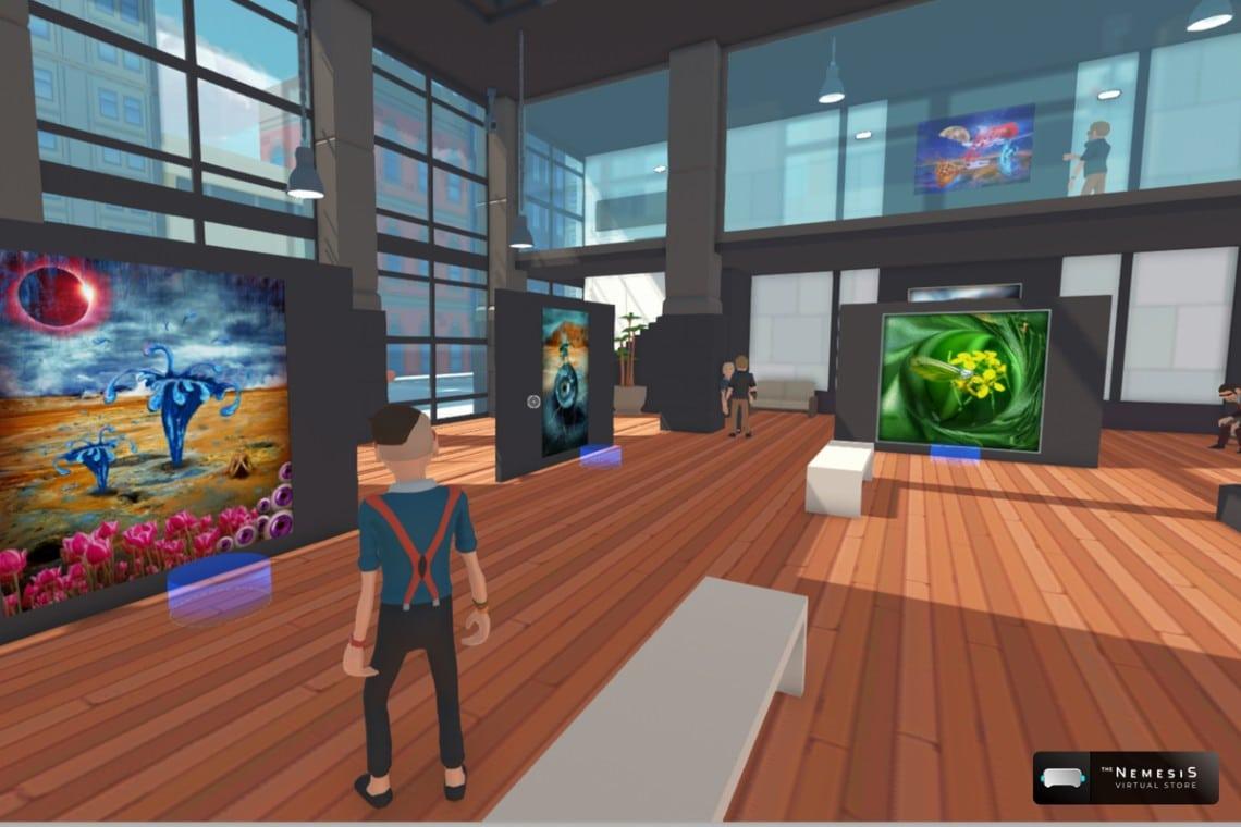 The Nemesis e Cryptonomist insieme per promuovere gli NFT in una nuova galleria virtuale