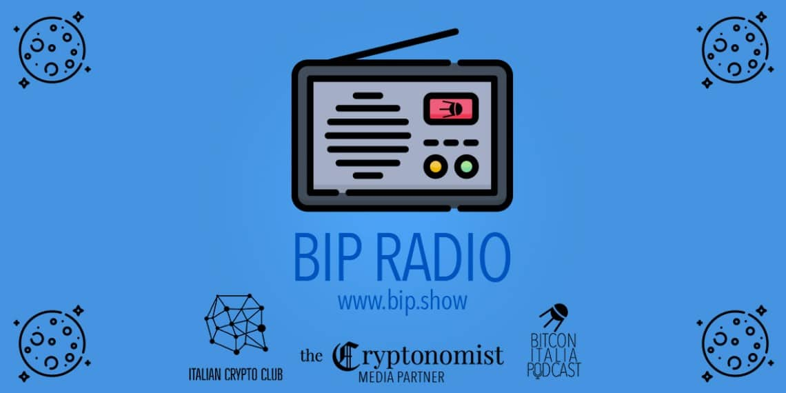 The Cryptonomist media partner della radio crypto, Bip Radio