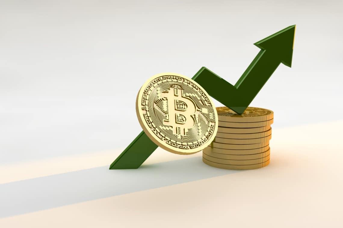 Bitcoin guadagno del 25% in una settimana