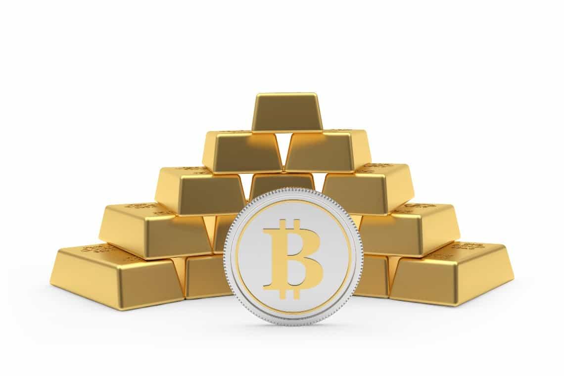 Le performance di bitcoin migliori di quelle dell'oro