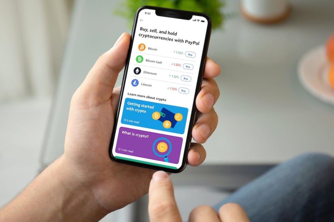 PayPal: entro fine marzo i pagamenti in criptovalute