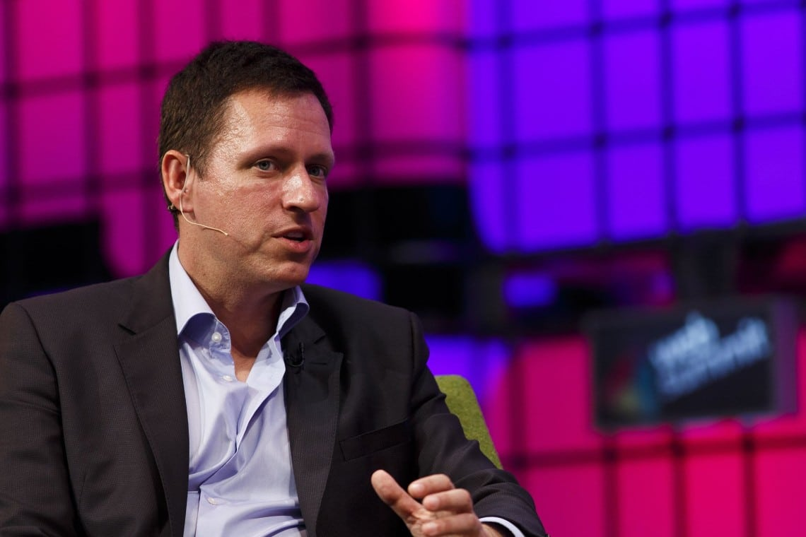 Peter Thiel bullish su Bitcoin