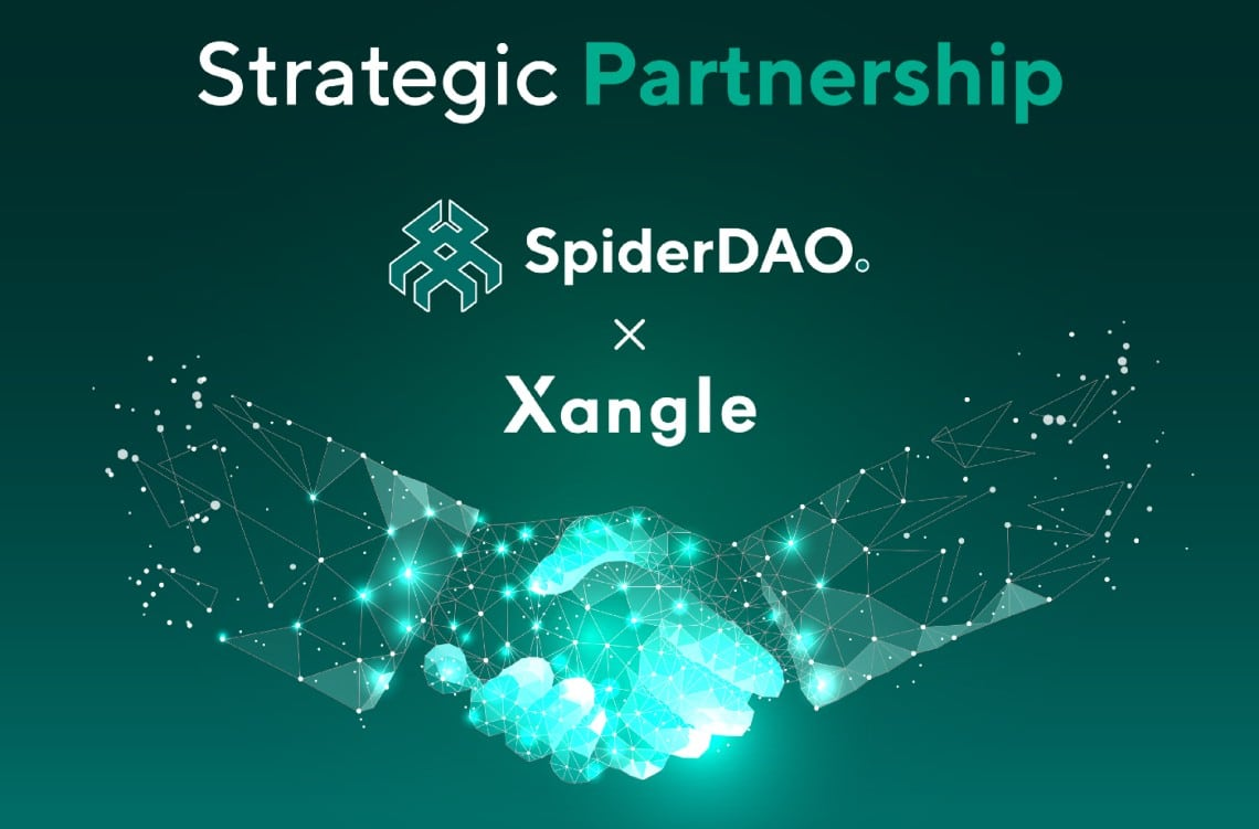 SpiderDAO collabora con Xangle