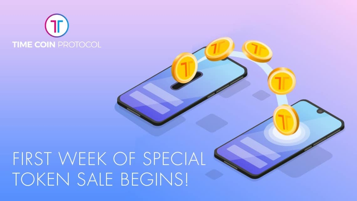 Token Sale TimeCoin