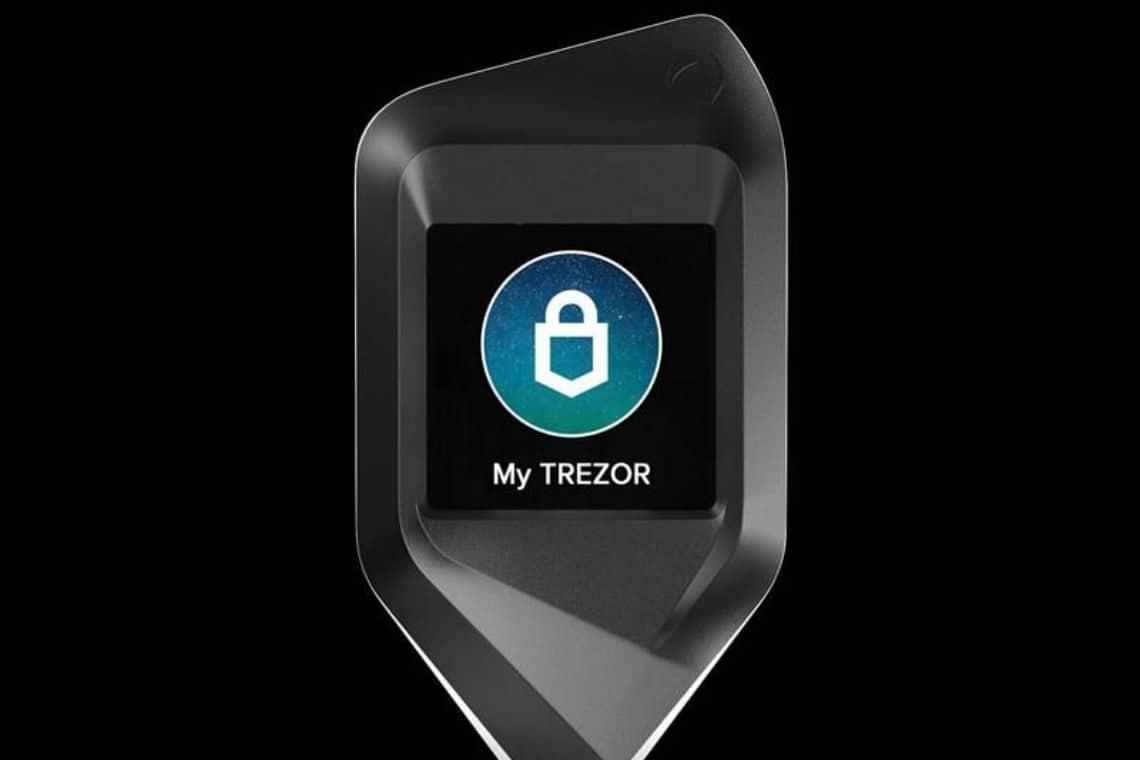 Trezor, un hardware wallet di lusso: il CORAZON Aluminium