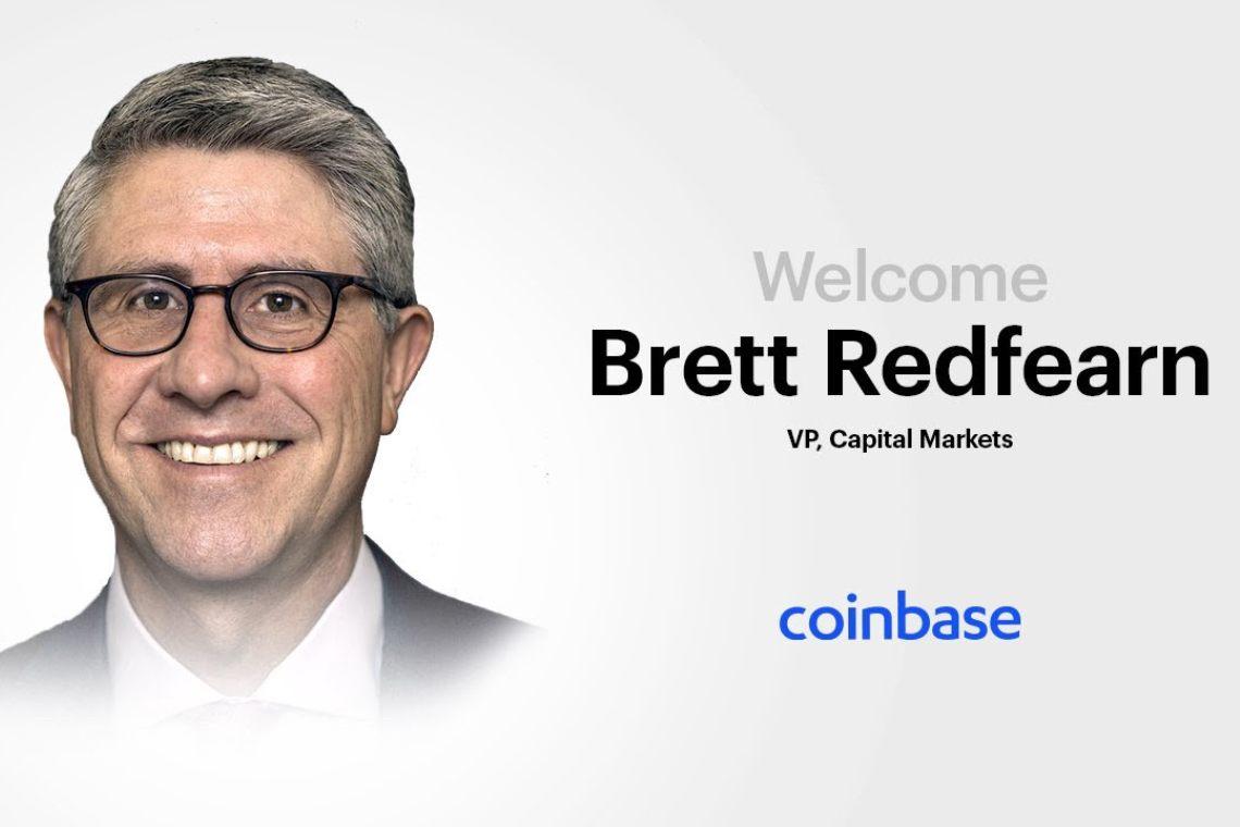 Coinbase, dalla SEC arriva Brett Redfearn