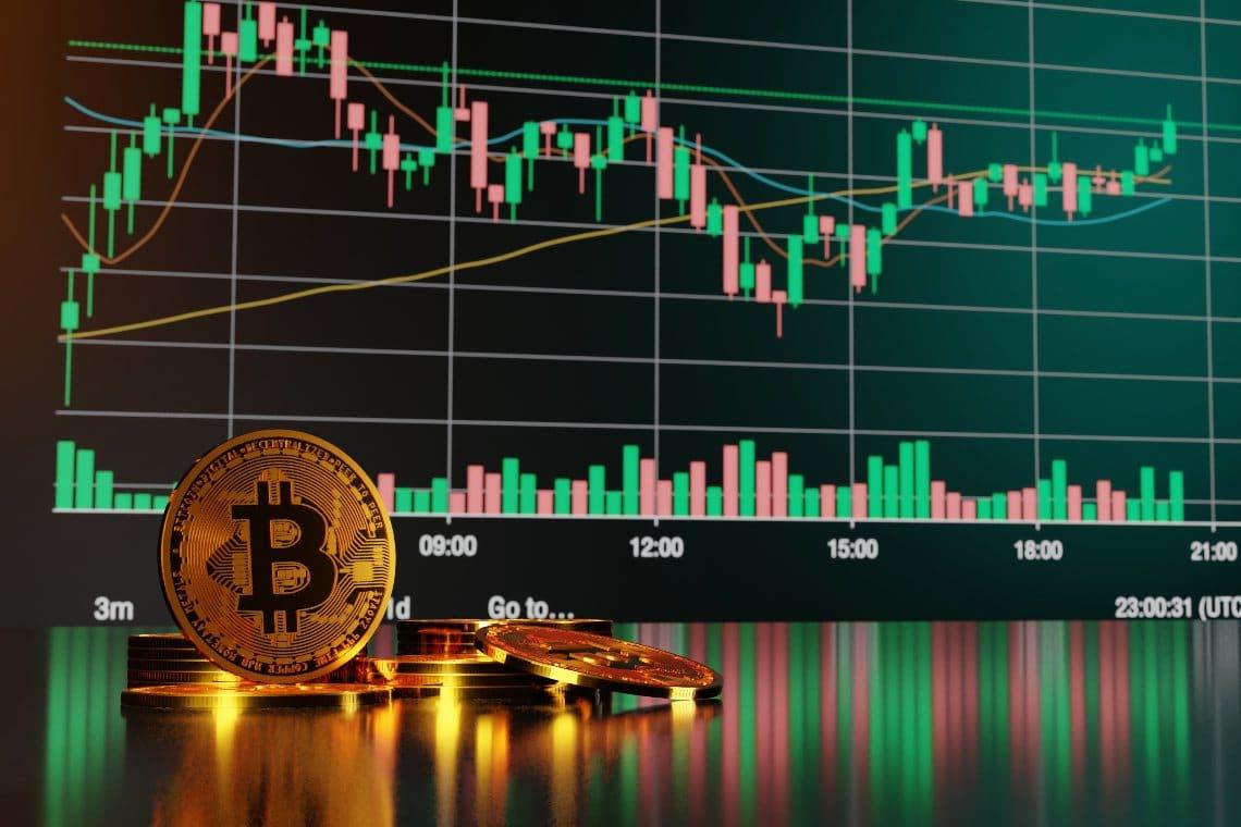 Bitcoin in perdita ad un passo dai 53.000 dollari