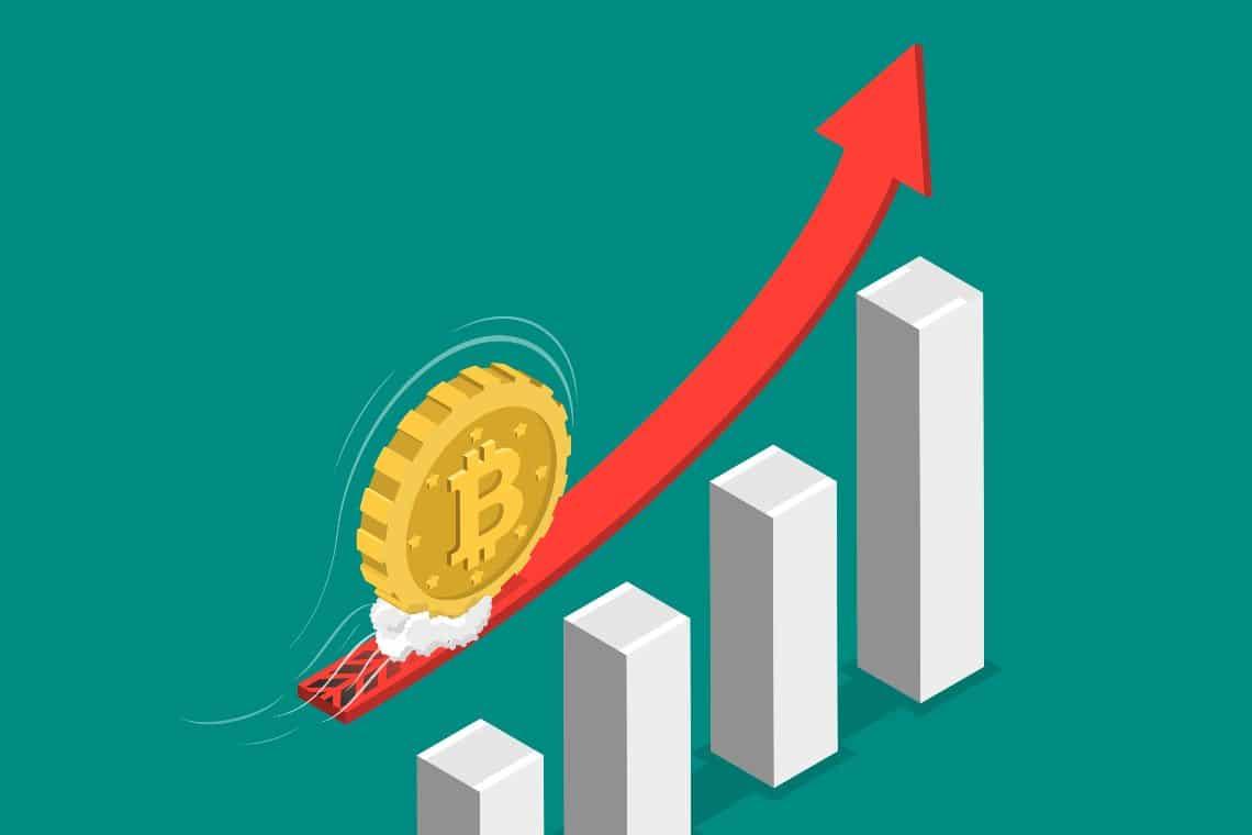 Bitcoin, + 1400% un anno dopo il crash di marzo 2020