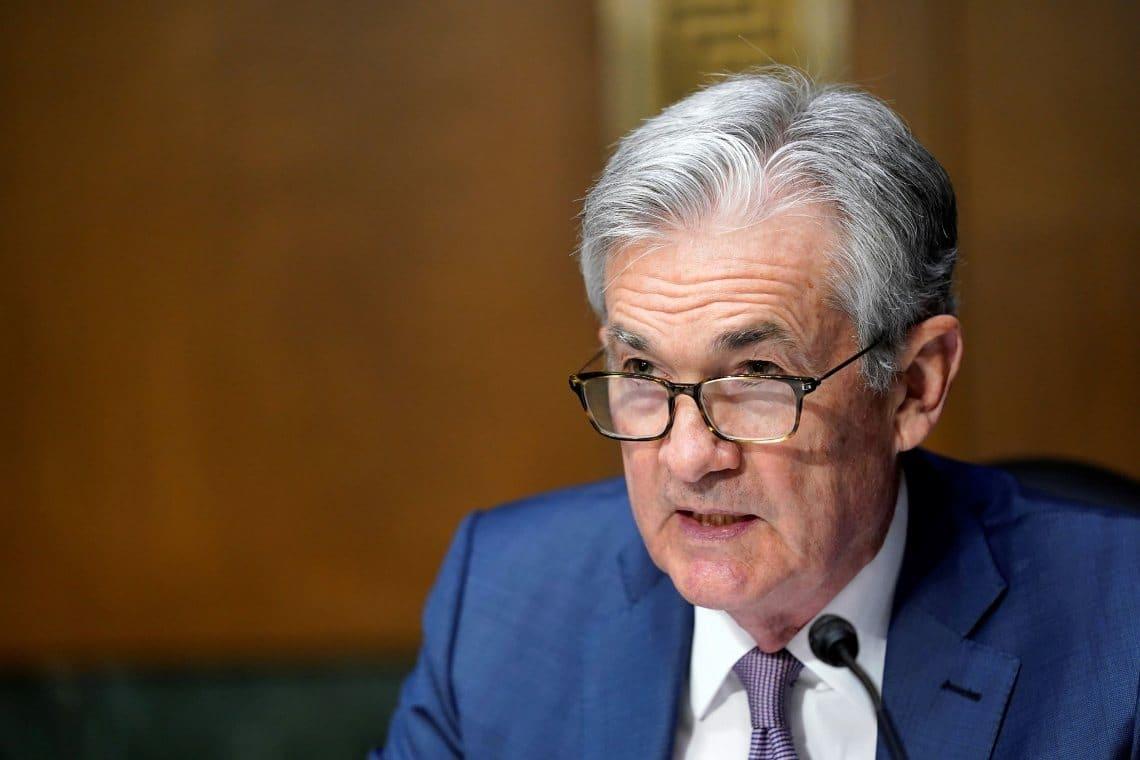 Scende Bitcoin e Powell pazienta sull'aumento tassi obbligazioni