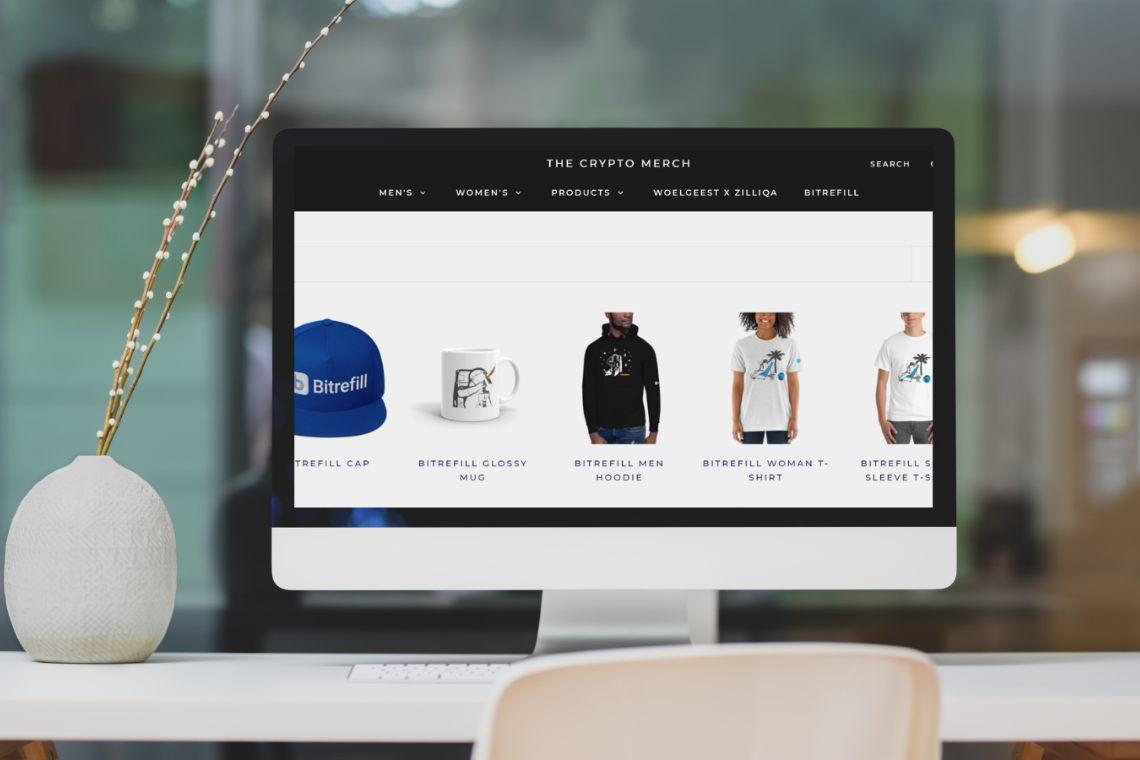Bitrefill: arriva lo store ufficiale per il merchandise