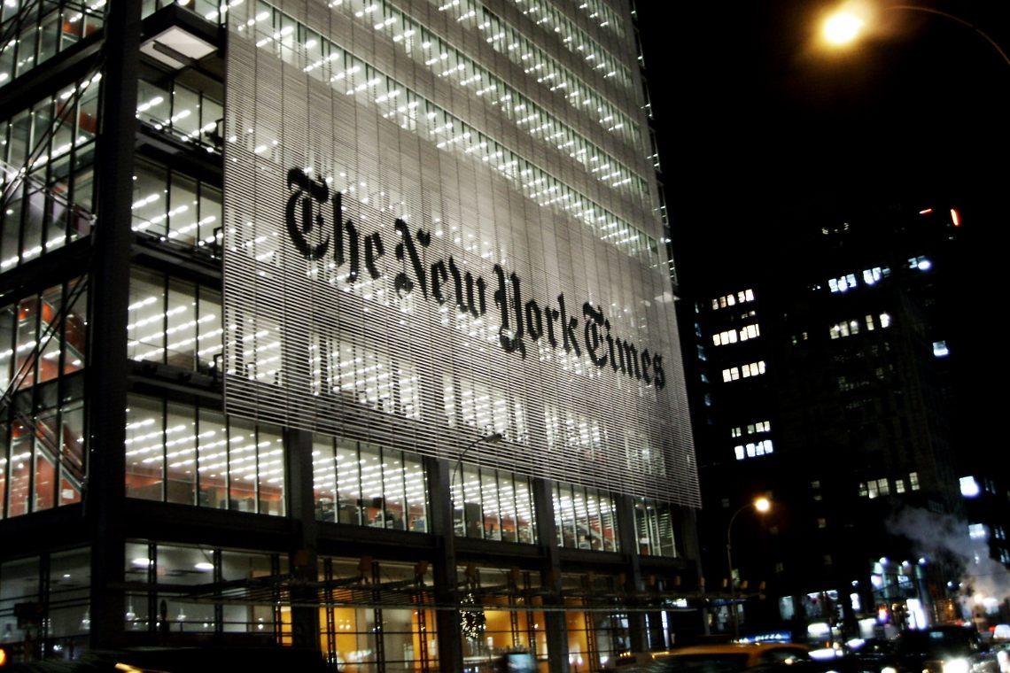 Venduto con un NFT un articolo del New York Times per oltre 500.000 dollari