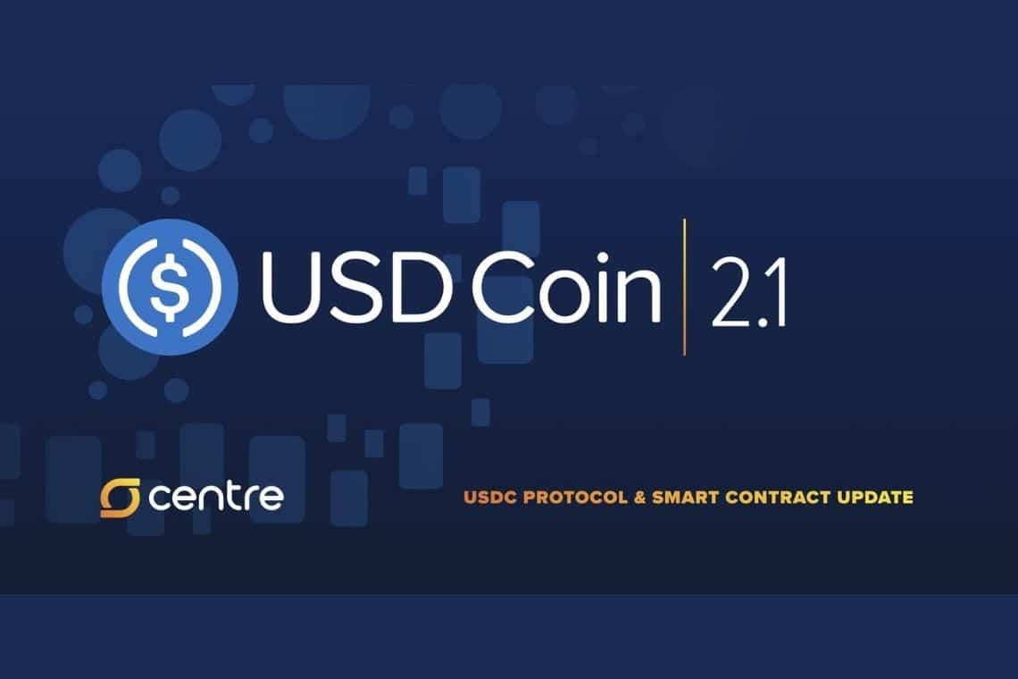 USD Coin (USDC): annunciato il rilascio della versione 2.1