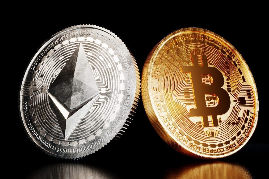 Bitcoin vs Ethereum: ETH vince nel 2020 e nel 2021