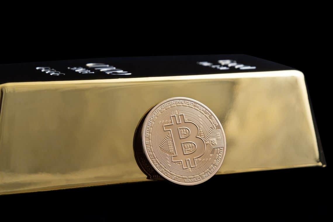 Oro contro Bitcoin, il segnale tecnico da monitorare