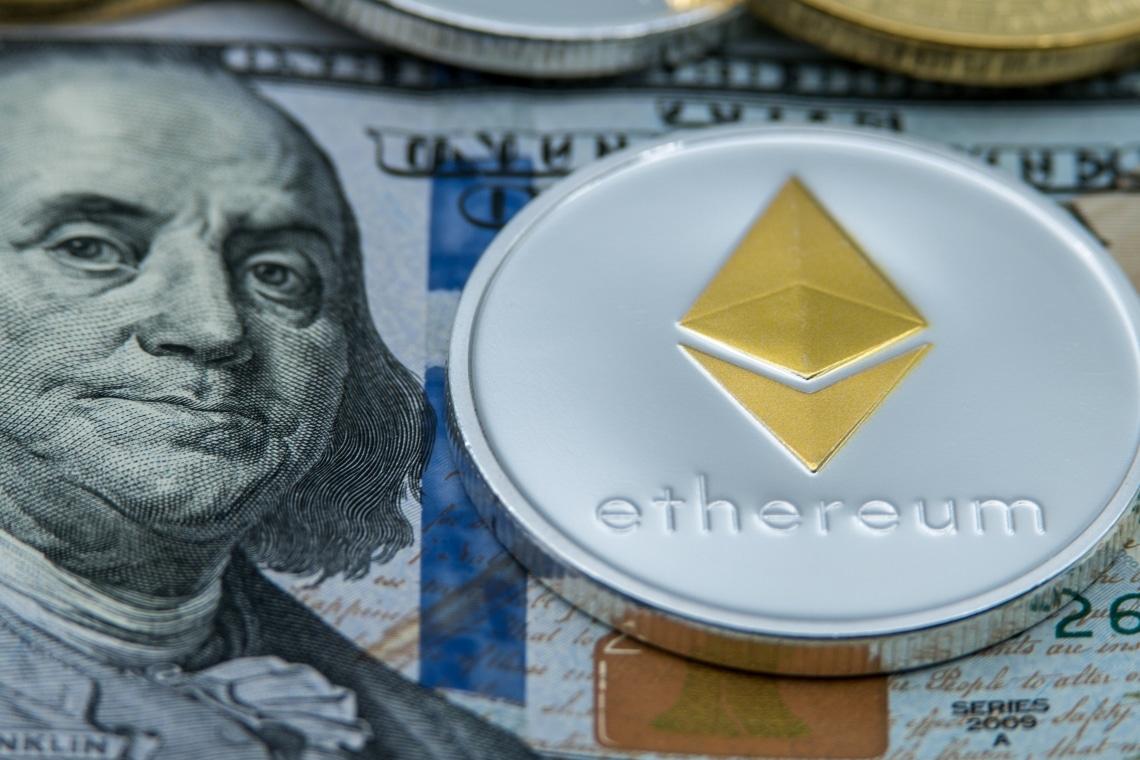 Il prezzo di Ethereum continua a salire