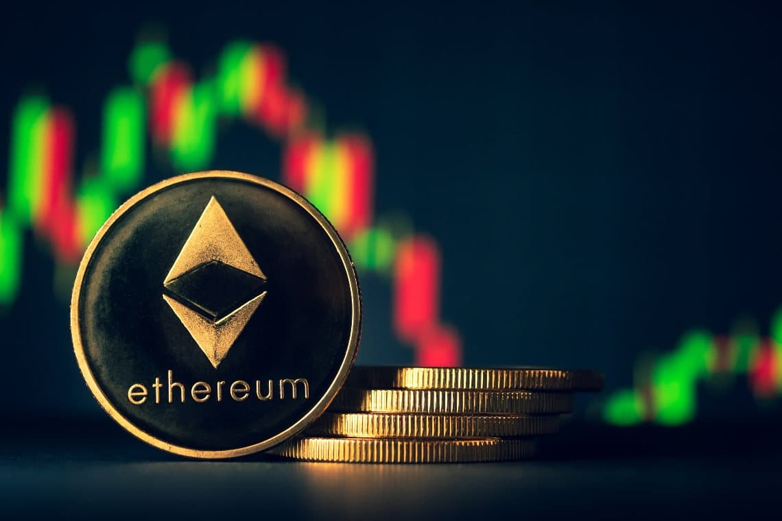 Ethereum: il prezzo scende del 5% dopo i record