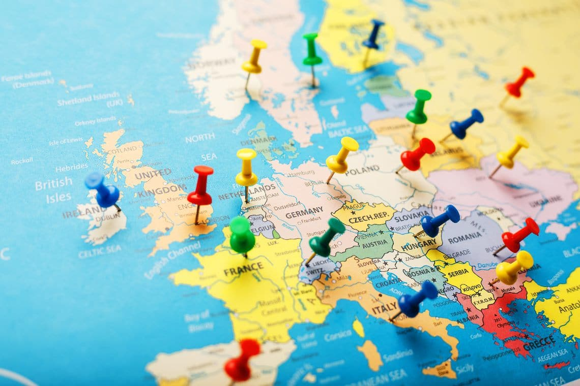 Gli hub crypto più promettenti d'Europa