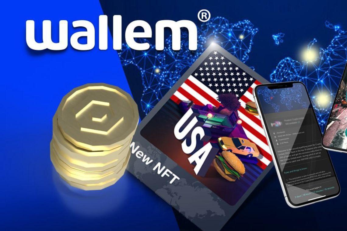 Wallem: nuovi NFT con reward in base all'uso dell'app