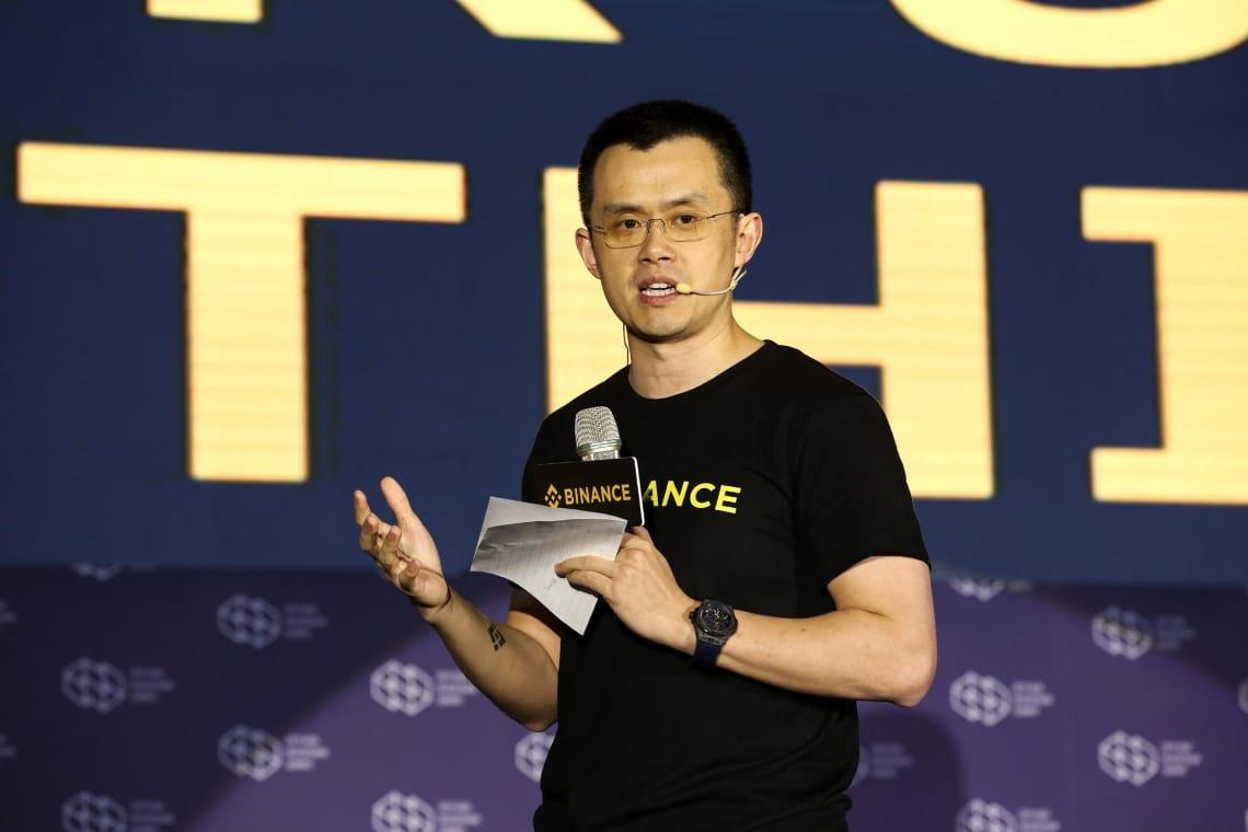 "Binance: ""Bitcoin meno volatile di Apple o Tesla"", parola del CEO CZ Zhao"